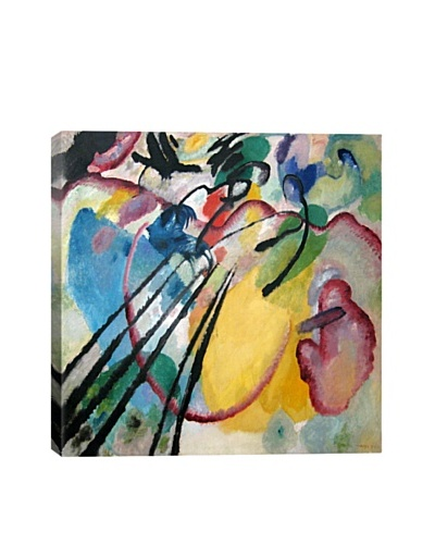 Wassily Kandinsky's Improvisation 26 (Rowing) Giclée Canvas Print