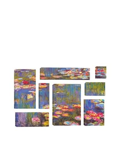 Claude Monet Water Lilies 1916 8-Piece Giclée Canvas Print