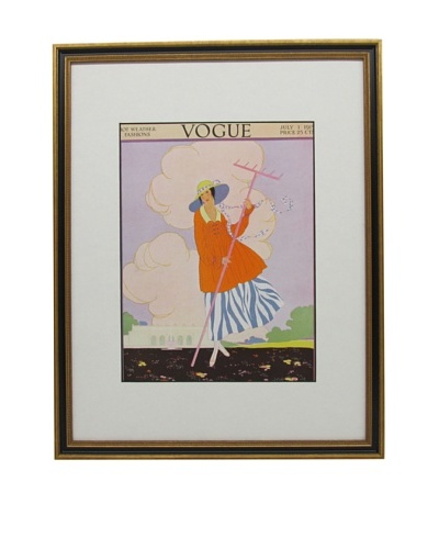 Original Vogue Cover from 1915 by Helen Dryden