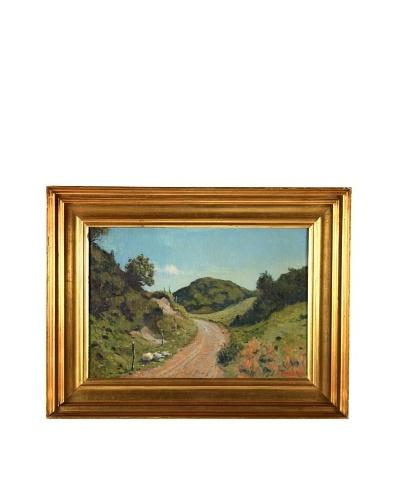 Landscape, 1947 Framed Artwork