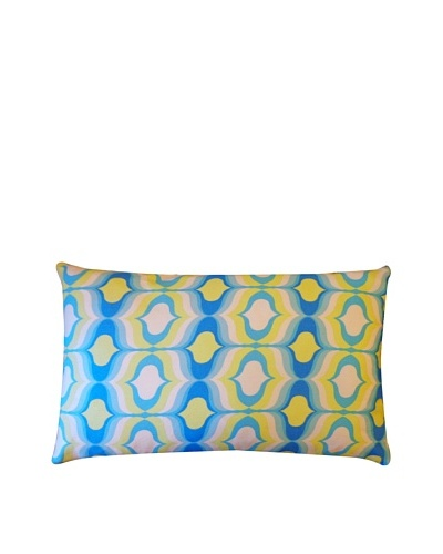 Copela Throw Pillow, Blue