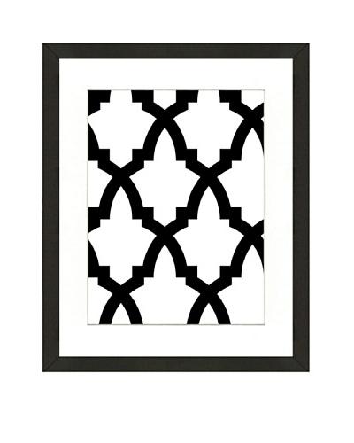 Geometric Pattern Framed Giclée Print