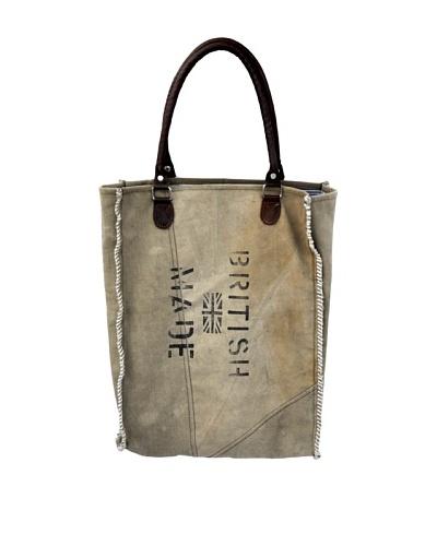 Audrey Tote Bag, Tan/Brown