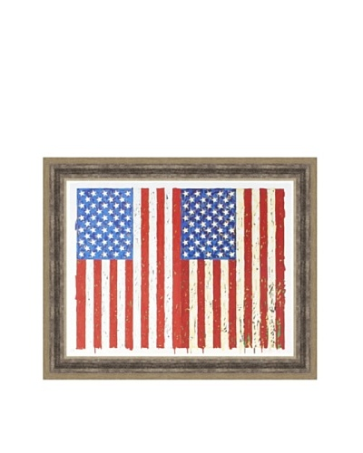 Jasper Johns: Flags, I