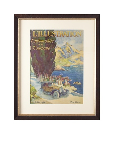Original French L'Illustration Magazine Cover by Tamossa, 1924As You See