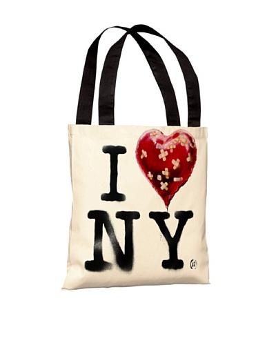 Banksy I Heart NY Tote Bag