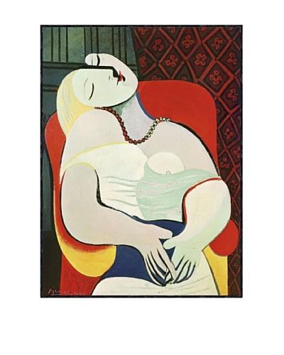 Pablo Picasso The Dream Framed Art