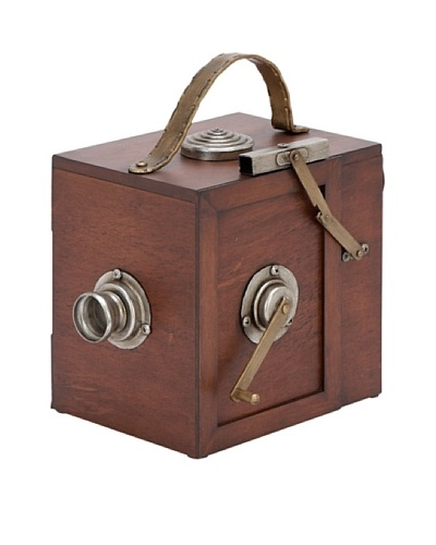 Decorative Camera Box with Handle