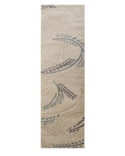 Prestige Runner, Light Cream, 2' 8 x 7' 8 Runner