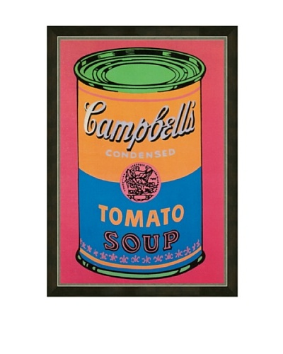 Andy Warhol: Soup Can Tomato Colored