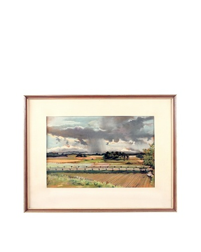 Storm Front Framed Artwork