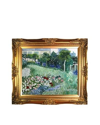 Vincent Van Gogh Daubigny's Garden Framed Oil Painting