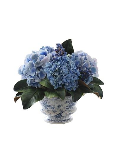 "14"" Mixed Hydrangea & Blueberries"