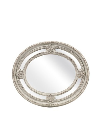 Christensen Carved Oval Mirror