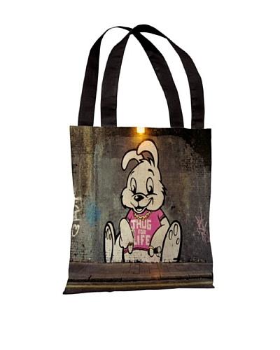 Banksy Thug for Life Bunny Tote Bag