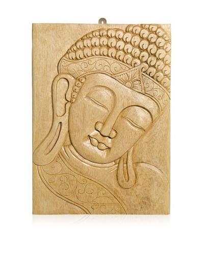 Buddha Wall Panel, Natural