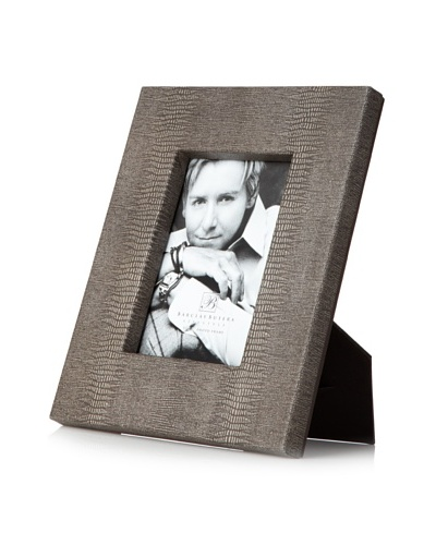 Desert Faux Reptile Photo Frame [Charcoal]