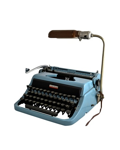 1957 Underwood Universal with Lamp, Blue Green