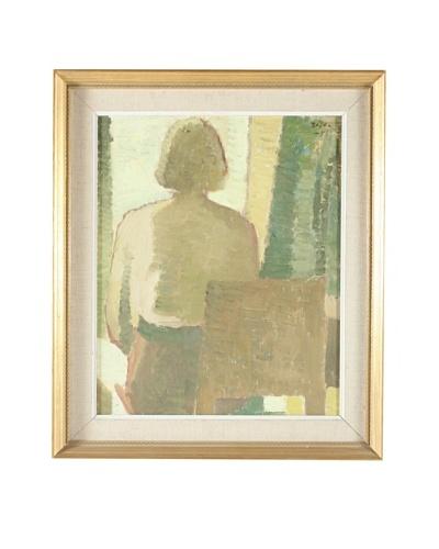 1951 Composition Framed Artwork