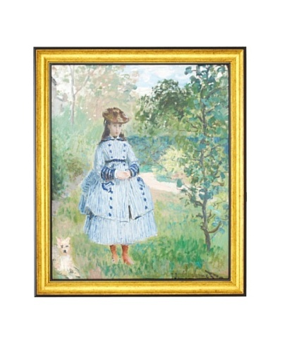 Claude Monet: Girl with Dog, 1873