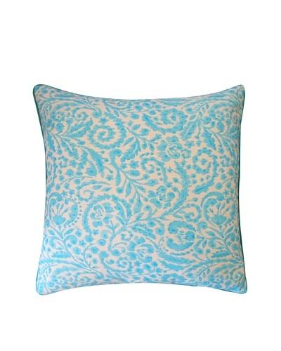 Amigo Throw Pillow, Turquoise