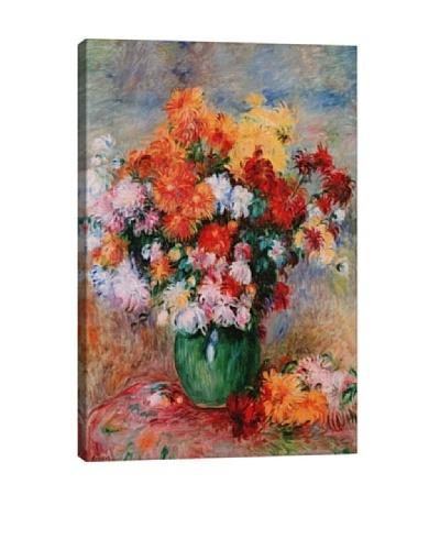 Pierre-Auguste Renoir's Bouquet of Chrysanthemums (circa 1884) Giclée Canvas Print