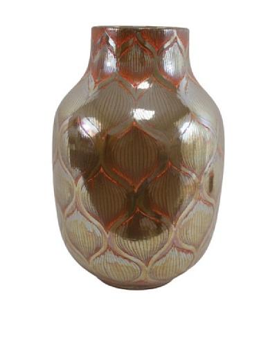Cease Vase III, Brown/Red