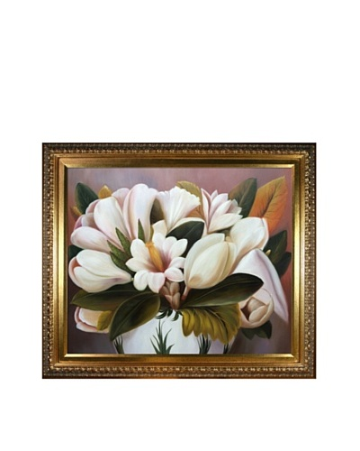Frida Kahlo's Magnolias Framed Reproduction Oil Painting