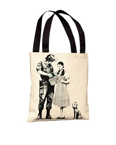 Banksy Dorothy and the Police Tote Bag