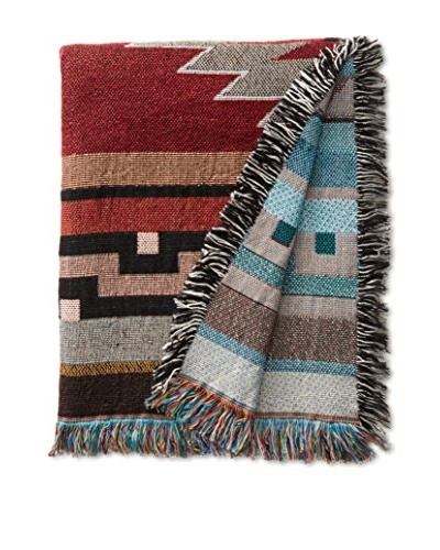 Southwest Throw, Red/Green