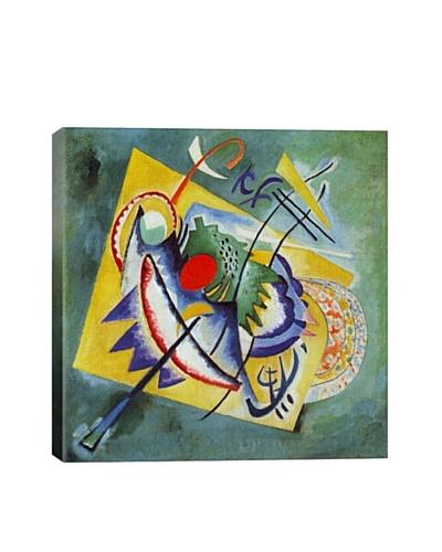 Wassily Kandinsky's Red Oval Giclée Canvas Print