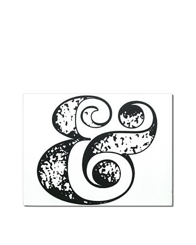 Ampersand, 18 x 24