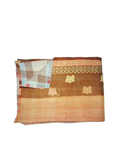 Vintage Kantha Throw, Multi, 60 x 75As You See