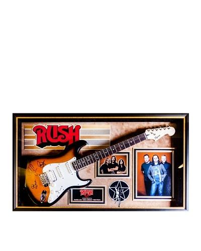 Signed Rush Guitar