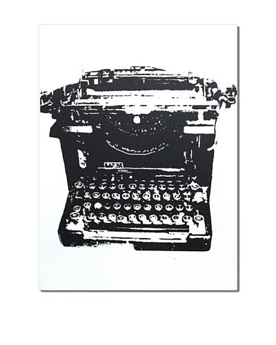 Typewriter, 24 x 18