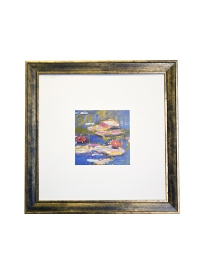 Claude Monet Water Lillies (Detail I) Limited Edition Lithograph