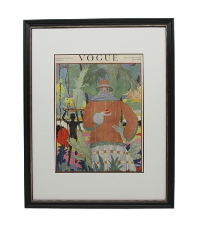 Original Vogue Cover from 1920 by Georges Lepape