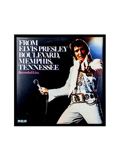 Elvis Presley: From Elvis Presley Blvd. Framed Album CoverAs You See