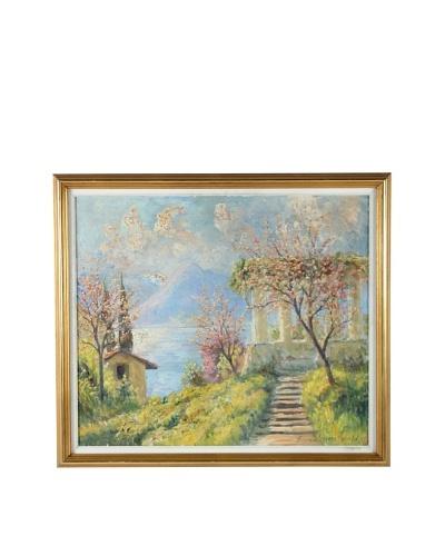 Finn Wennerwald Mediterranean Framed Artwork