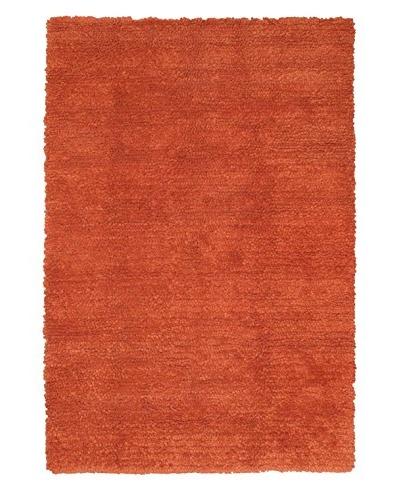 Handmade Ritz Shag, Copper, 5' 7 x 7' 10