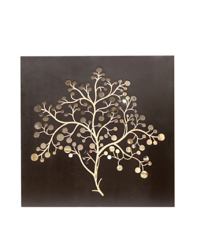 Silver Dollar Tree Mirror