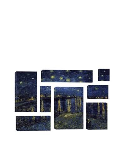 Vincent Van Gogh Starry Night Over The Rhone 8-Piece Giclée Canvas Print