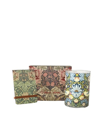William Morris Floral 3- Piece Gift Set