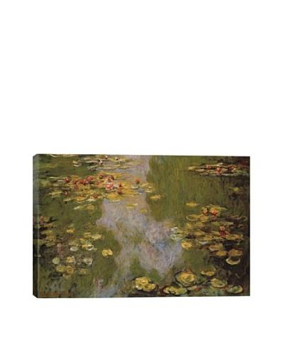 Claude Monet's Water Lilies (1919) Giclée Canvas Print