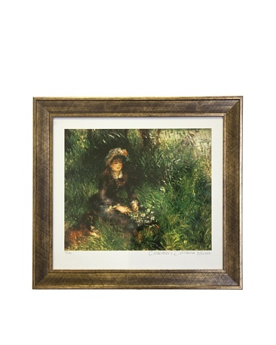 Pierre-Auguste Renoir Aline Charigot with a Dog Limited Edition Giclée