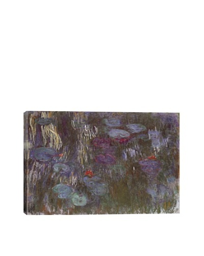 Claude Monet's Water Lilies Up Close Giclée Canvas Print