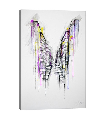 Marc Allante This City Sleeps Canvas Print