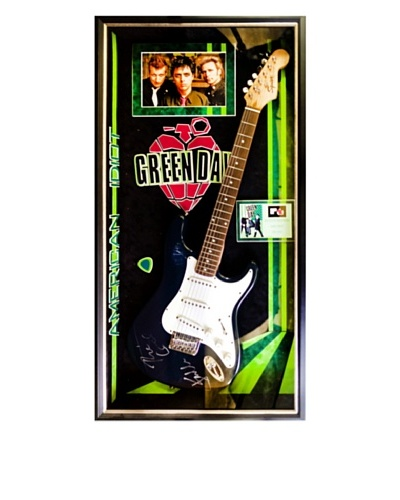 Signed Green Day Guitar