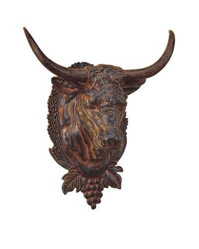 Hand-Painted Steer Head