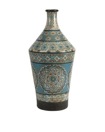 Kabir Large Hand-Painted Vase